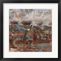 Dusky Horizon I Framed Print