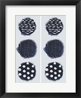 2-Up Circular Trilogy II Framed Print