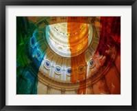 Framed Denver Capitol I