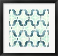 Framed Ocean Tile IV