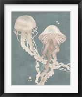 Jellyfish Dance I Framed Print