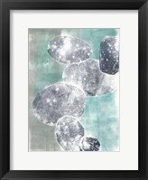 Descending Orbs I Framed Print