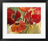 Framed Primavera II
