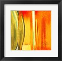 Framed Color Glass I
