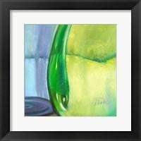 Framed Color Glass VII