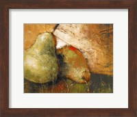 Framed Pear Study I