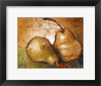 Framed Pear Study II