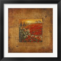 Framed Bella Toscana II