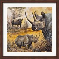 Framed Safari I