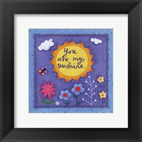 Little Words II Framed Print