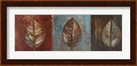 Framed New Leaf Panel I