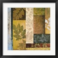 Framed August Leaves I