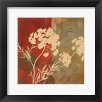 Framed Among the Flowers I