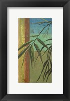 Framed Bamboo & Stripes II
