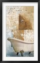 Bathroom & Ornaments I Framed Print