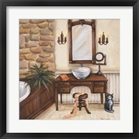 Framed Fireplace Escape II