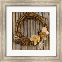 Framed Wreath I
