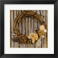 Framed Wreath I