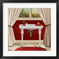 Framed Red Bain II
