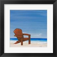 Framed Coastal Scene III