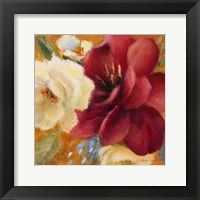 Billowing Blooms I Framed Print