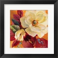 Billowing Blooms II Framed Print