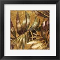 Framed Gathered Palms I