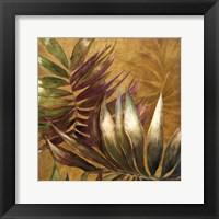 Framed Gathered Palms II