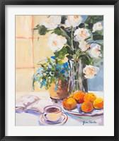 Framed Morning Rose I