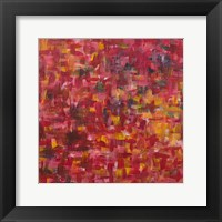 Framed Mixed Emotions in Red II
