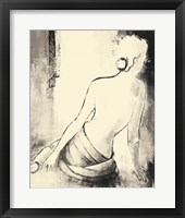 Framed Figurative Woman I