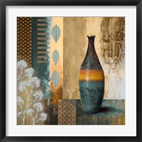Framed Earthly Pottery I