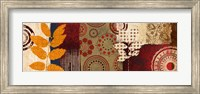 Framed Fall Leaf Panel II