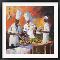 A Touch of Spice II Framed Print
