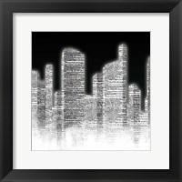 Framed Black and White City II