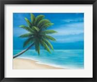 Framed Palm Beach I