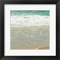 Framed Teal Waves II