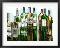 Framed B&G Bottles I