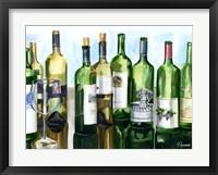 Framed B&G Bottles II