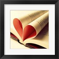 Framed Open Book