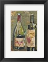 Framed Vino I