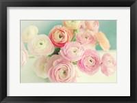 Framed Blushing Blossoms