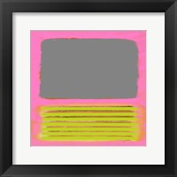 Framed Pink Metamorphosis