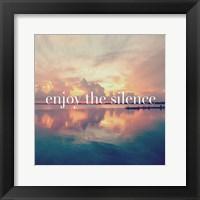 Framed Enjoy the Silence