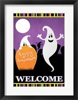 Framed Halloween Ghost I
