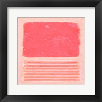 Framed Pastel Metamorphosis II