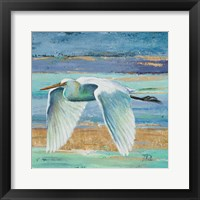 Framed Great Egret II