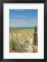 Coast Dock II Framed Print