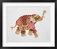 Framed Pink Elephant IA