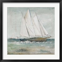 Framed Cape Cod Sailboat II